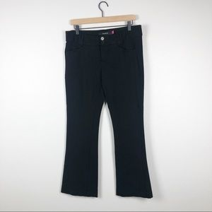 Torrid black stretchy trousers size 12
